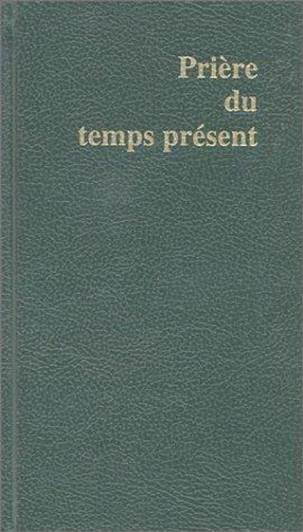 Prière du temps présent  Petit format - vert