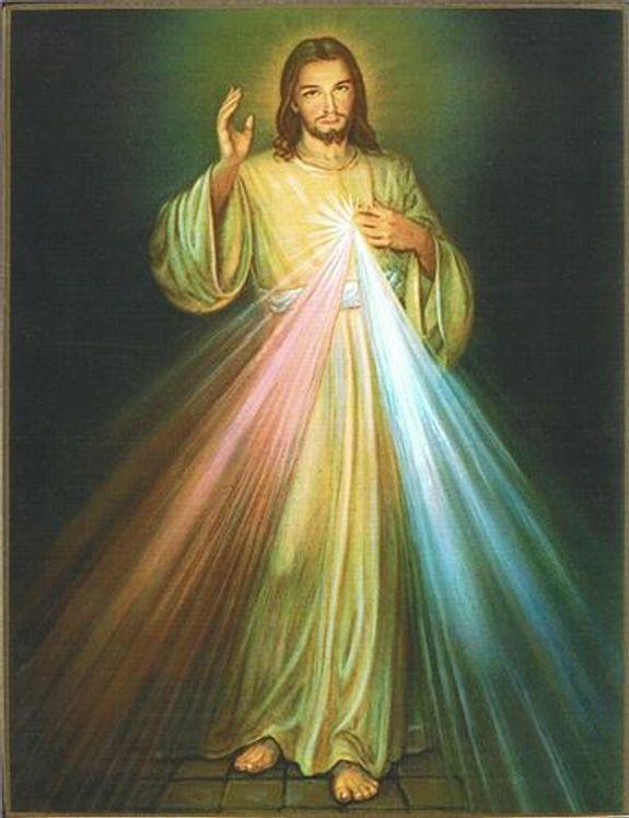 Icône Le Christ Miséricordieux 40 x 60 cm