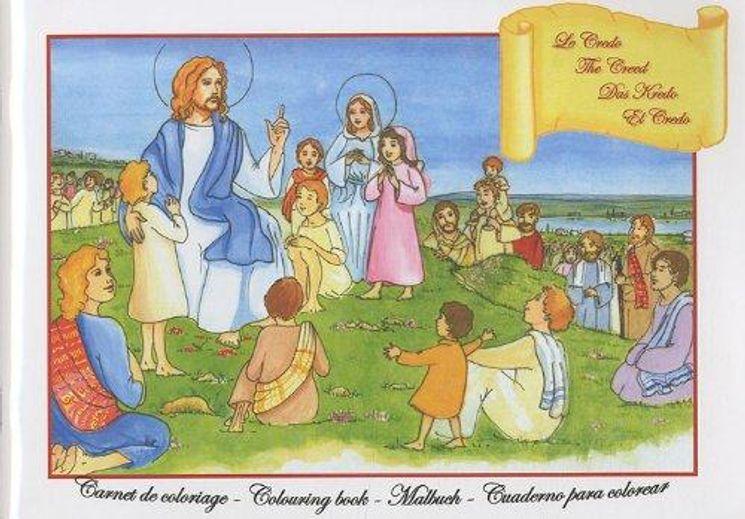 Le Credo - Carnet de coloriage