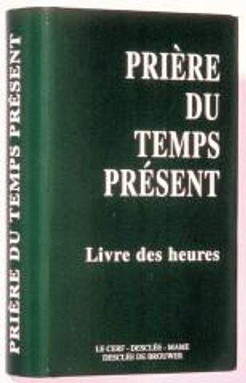 Prière du temps présent - petit format vert