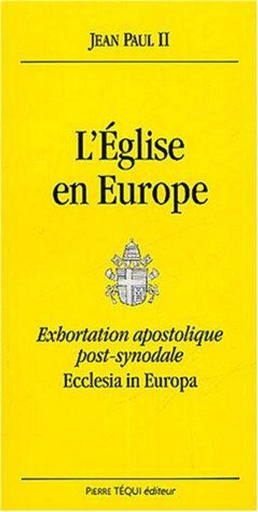 L'Eglise en Europe