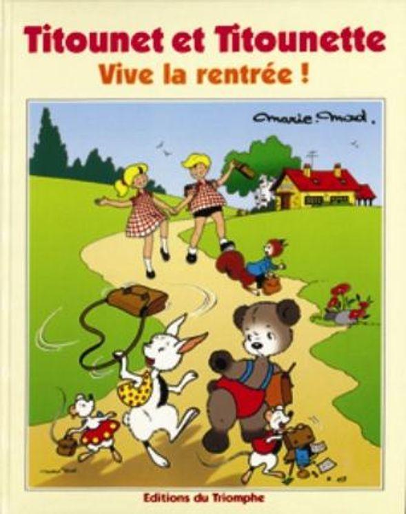Titounet et Titounette 20 - Vive la rentrée !