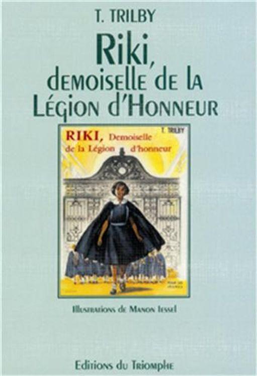 Riki, demoiselle de la Légion d´Honneur