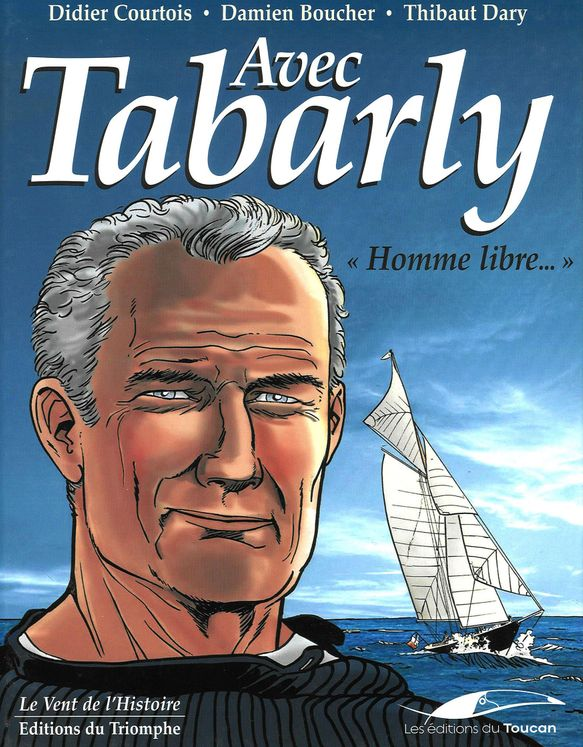 Avec Tabarly - homme libre BD