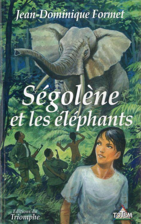 Ségolène 11 - Ségolène face aux éléphants