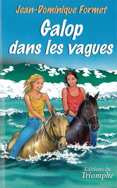 Les cavalcades de Prune 3 - Galop dans les vagues