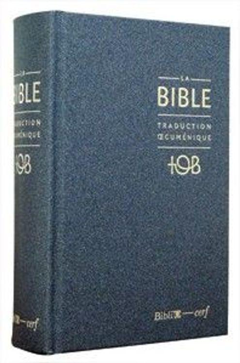 La Bible TOB (édition 2010 - balacron bleu nuit)