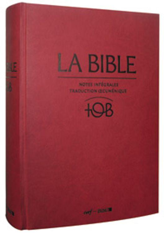 La Bible TOB (sous étui)