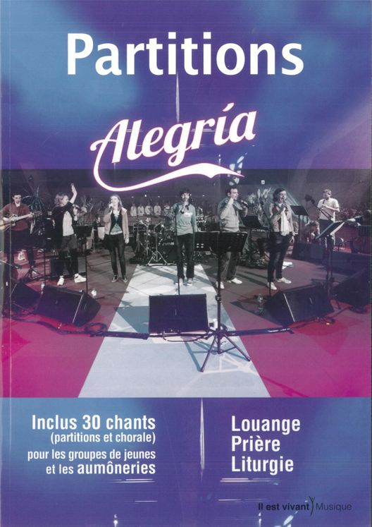 Partitions livret Alegria - Frat 2012