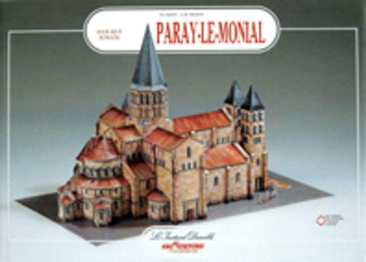 Livre-Maquette Paray-le-monial - basilique romane