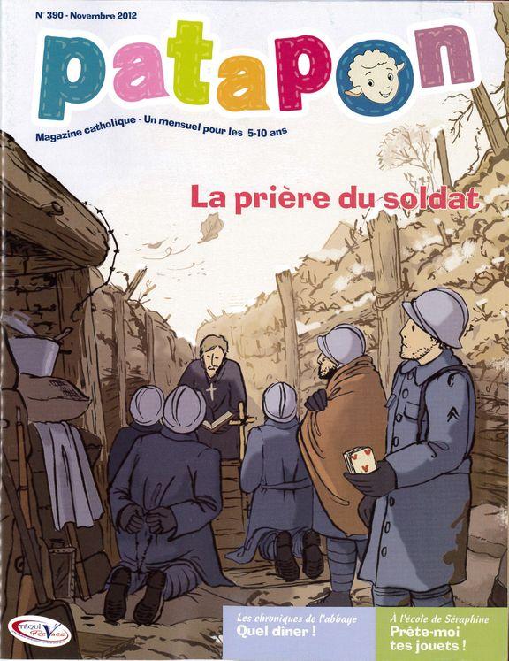 La prière du soldat - revue Patapon Novembre 2012 N°390