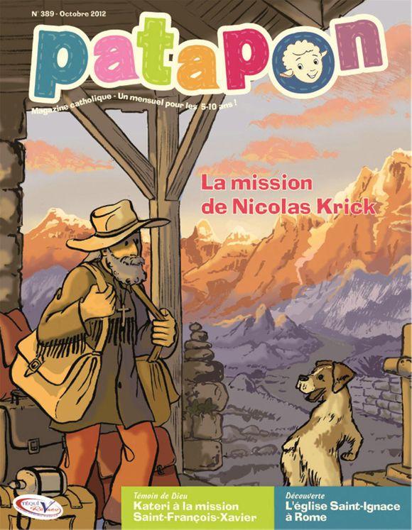 La mission de Nicolas Krick - revue Patapon Octobre 2012 N°389