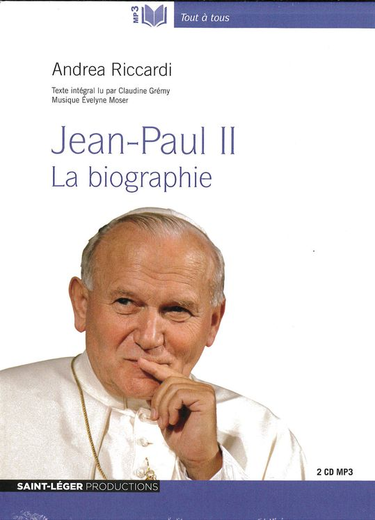 Jean-Paul II - Audiolivre MP3