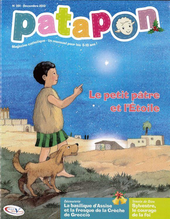 Le petit pâtre et l´Etoile - revue Patapon Décembre 2012 N°391