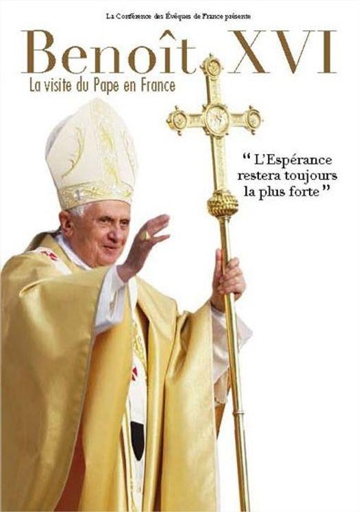Benoît XVI - La visite du Pape en France - Coffret 2 DVD
