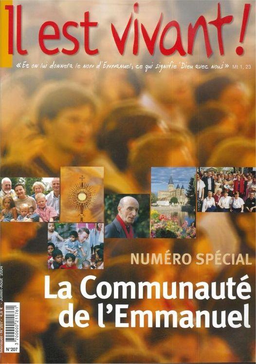 n°207 - Il est vivant - Communauté de l´Emmanuel Numéro spécial