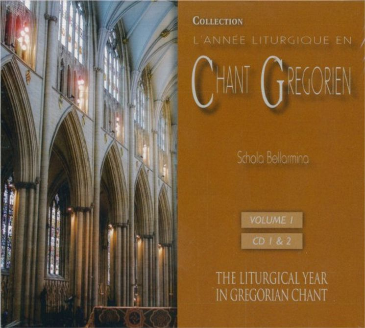 Chants Grégoriens : Du 1er dimanche de l'Avent à la fête de l'Epiphanie - Vol 1 -  2 CD