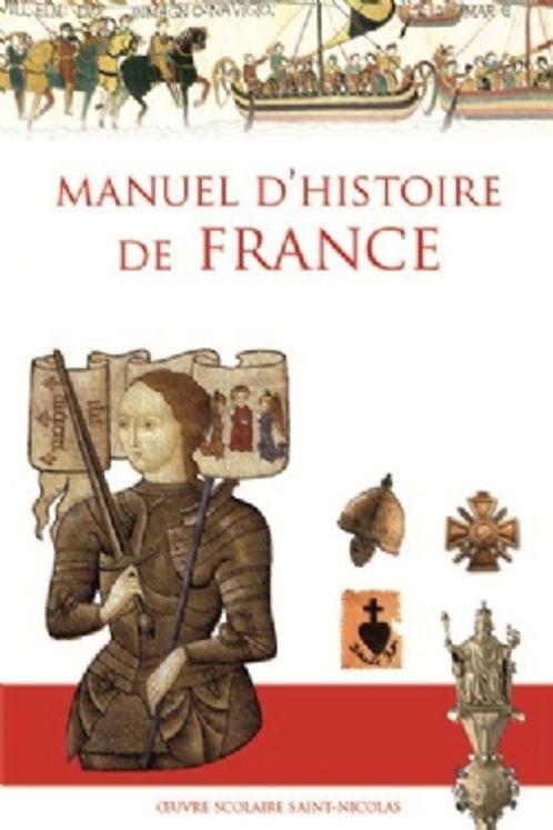 Manuel d´histoire de France (nouvelle édition)