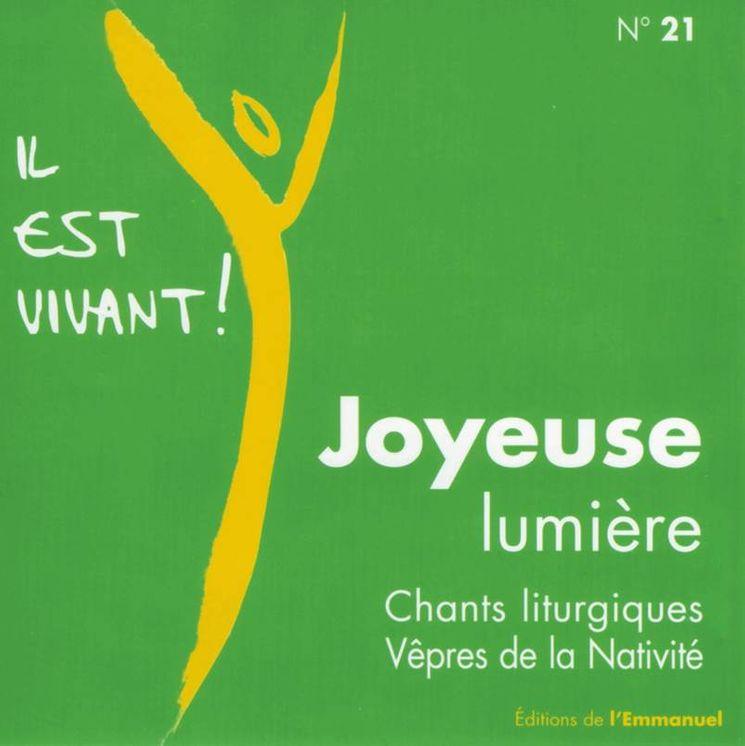 CD Il est vivant ! Joyeuse Lumiere - CD 21