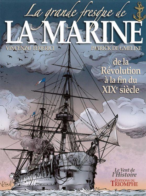 La grande fresque de la Marine - Tome 3 BD