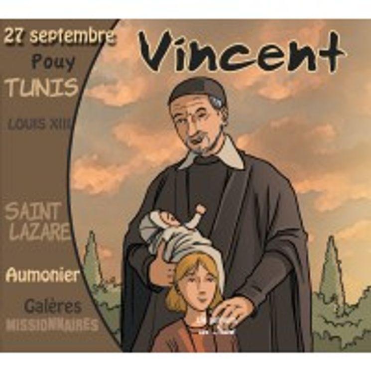 Saint Vincent  CD   Les messagers de Dieu