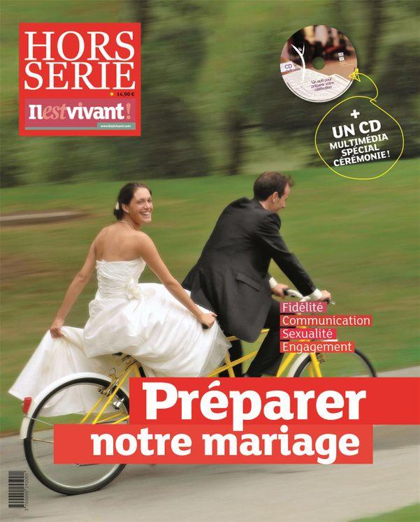Pack de 50 ex - Il est vivant Nouvelle formule - Novembre 2013 - Préparer notre mariage - Hors série