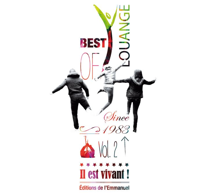 CD Il est vivant ! Best of Louange n° 2 - CD 58