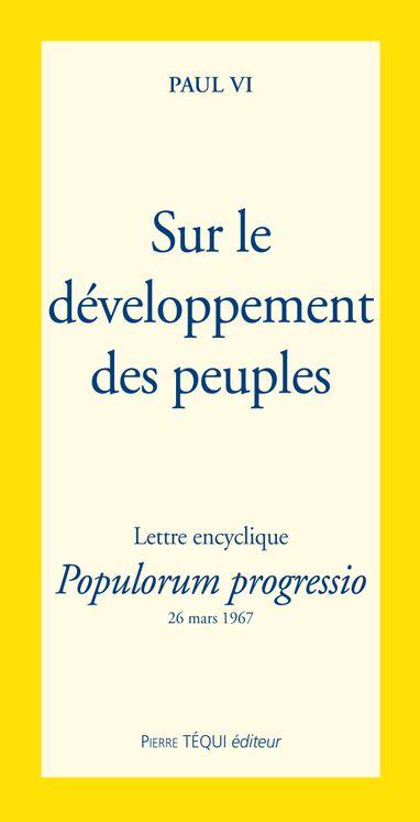 Sur le développement des peuples - Populorum progressio