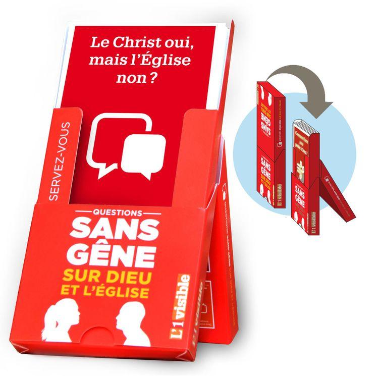 Boîte de 25 fiches Le Christ oui, mais l´Eglise non ?