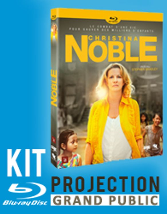 Christina Noble - Version Bluray et licence de projection grand public