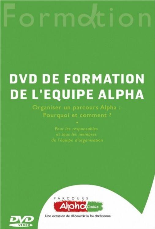 DVD de formation de l'équipe Alpha