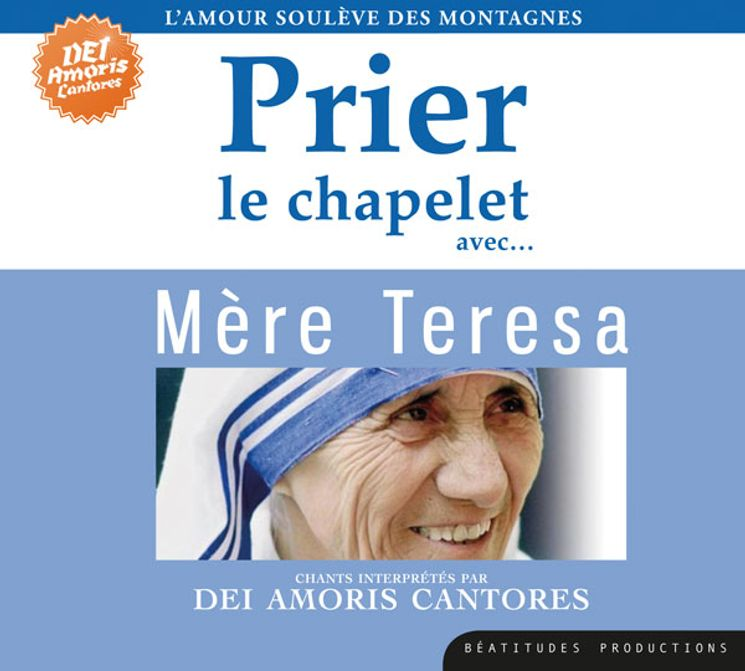CD Prier le chapelet avec mère Teresa