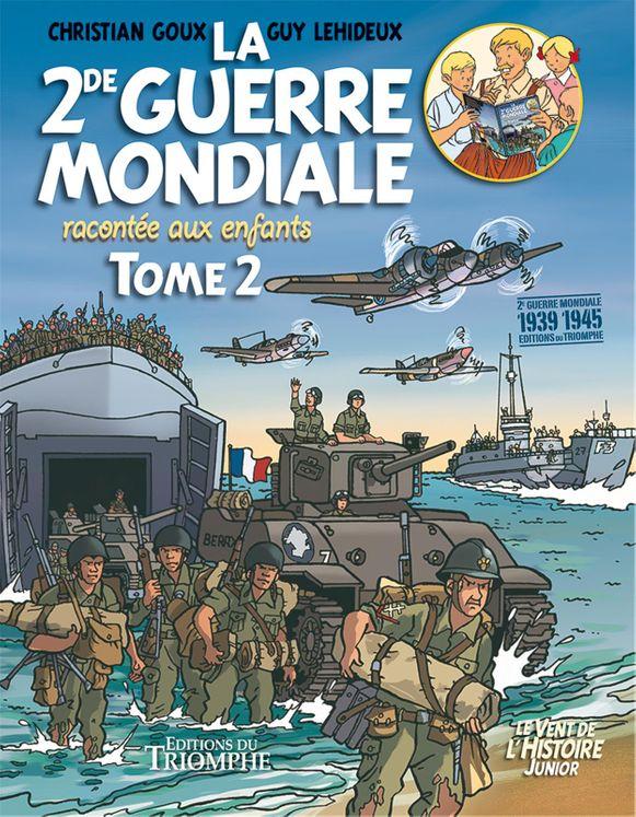 La Seconde Guerre mondiale racontée aux enfants - Tome 2 - BD