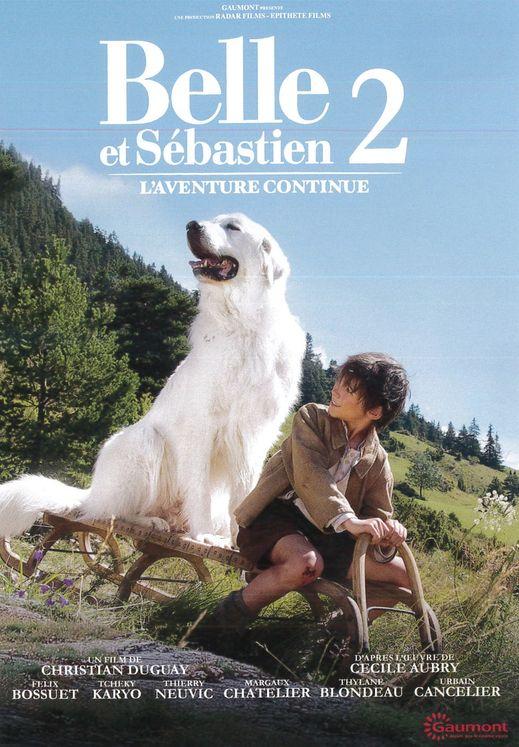 Belle et Sébastien 2 - L´aventure continue - DVD
