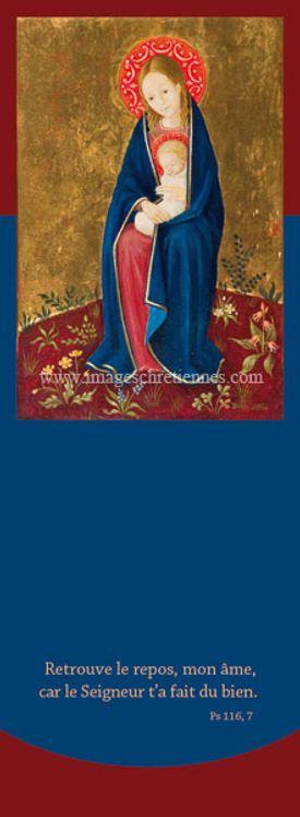Signet Bradi Barth Vierge à l'enfant, auréole rouge - Lot de 25