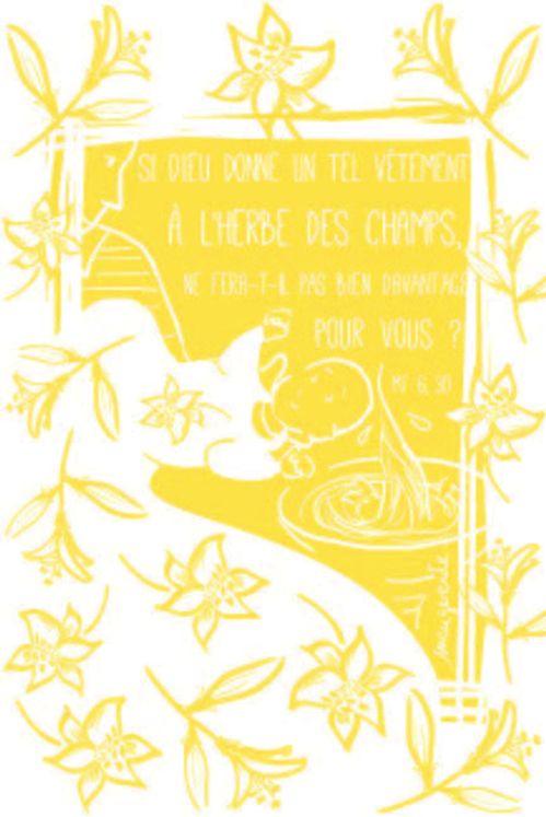 Lot de 25 - Image Baptême 3 Si Dieu donne un tel vêtement