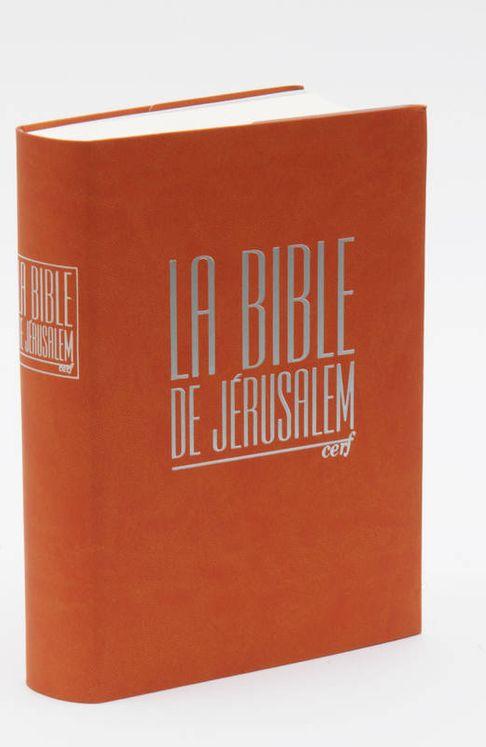 Bible de Jérusalem intégra fauve