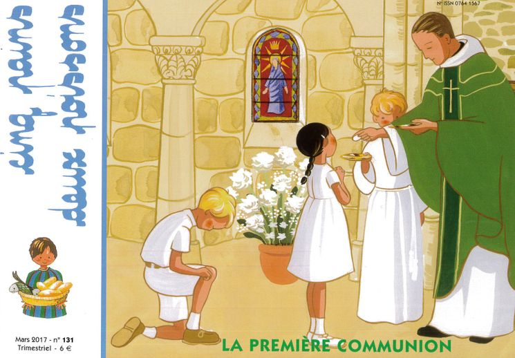 Cinq pains deux poissons 131 - La première communion