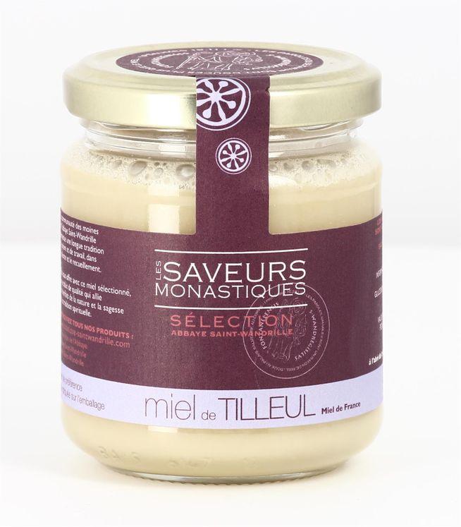 Miel de tilleul de France, pot verre de 250 g
