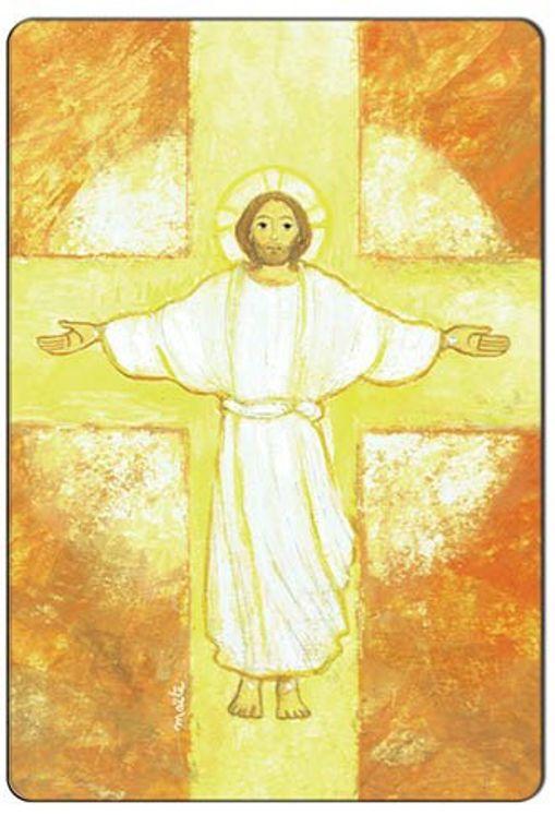 Magnet Maïte Roche - Christ Ressuscité
