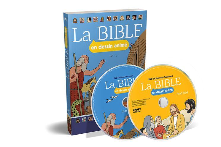 DVD La Bible en dessin animé