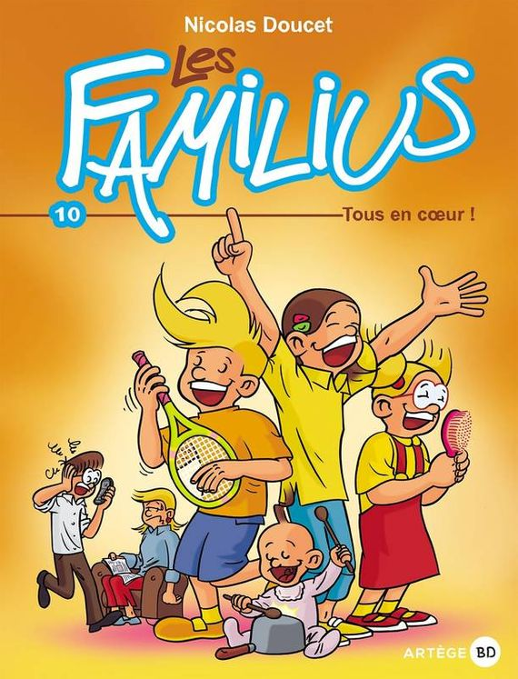 Les familius, tous en coeur ! - Tome 10