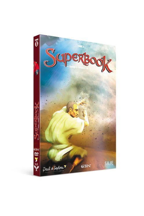 Superbook tome 8, saison 2 épisodes 10 à 13 - DVD