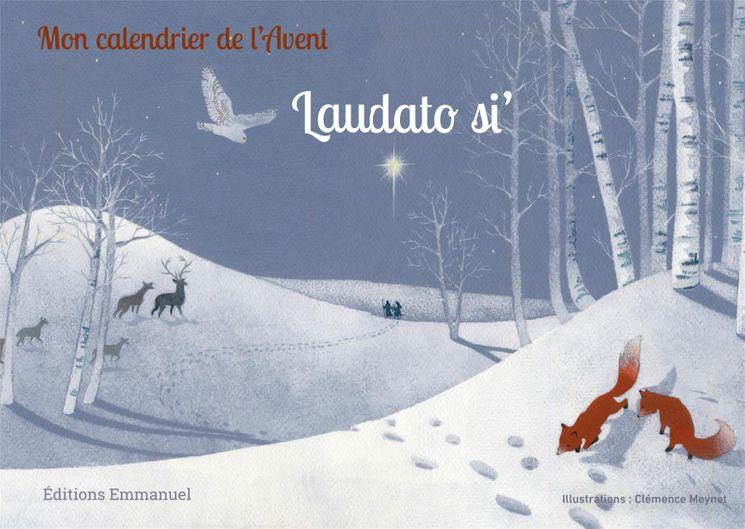 Mon calendrier de l'Avent Laudato si'