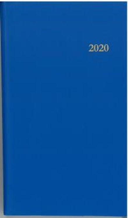 L´agenda du chretien 2020. bleu