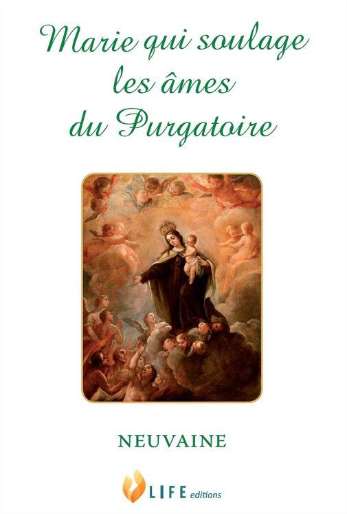 Marie qui soulage les âmes du Purgatoire