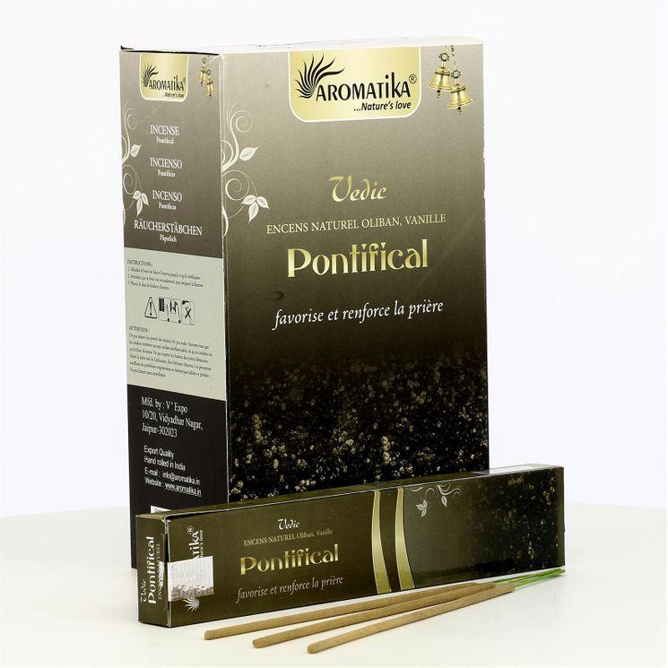 Batonnets encens Pontifical - Boîte de 12
