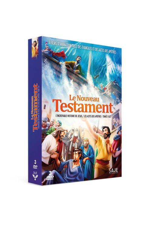 """Coffret """"Le Nouveau Testament"""" - 3 DVD"""