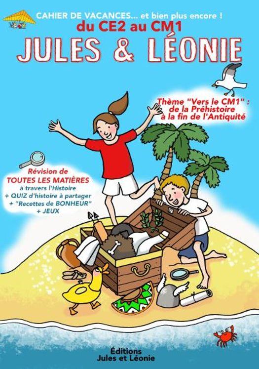 Cahier de vacances Jules et Léonie du CE2 au CM1