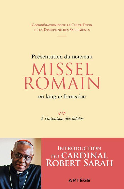 Présentation du nouveau Missel Romain en langue française - À l'intention des fidèles